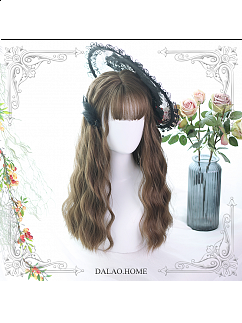 Jollian Water Ripple Long Curly Synthetic Lolita Wig by Dalao Home