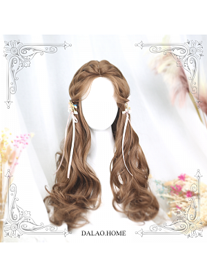 Angel Long Curly Synthetic Lolita Wig by Dalao Home