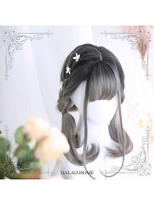 Morean Mid-length Curly Synthetic Lolita Wig by Dalao Home