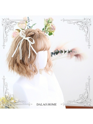 Joan Short Curly Synthetic Lolita Wig by Dalao Home