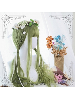 Long Micro Curly Synthetic Lolita Wig by Dalao Home