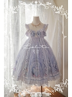 Elegant Mermaid Light Blue Lolita Dress JSK by Bodhi Lolita