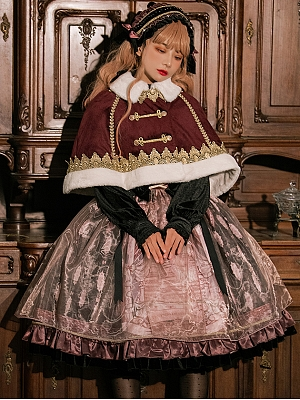 Maleficent Lolita Dress Matching Cape by B.Dolly