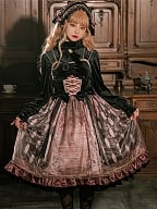 Maleficent Lolita Dress Matching Blouse by B.Dolly
