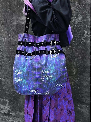 Gothic Galaxy Shoulder Bag by Blood Supply