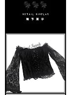 Diablo Series Gothic Corset Tube Top / Lace Overlay Skirt by Blood Supply