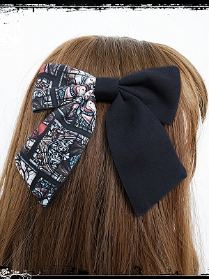 Silence Gothic Lolita Hairclip by Cat Highness