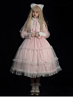 Spring and Love Song Elegant Lolita Dress OP by Cocoa Butter Lolita