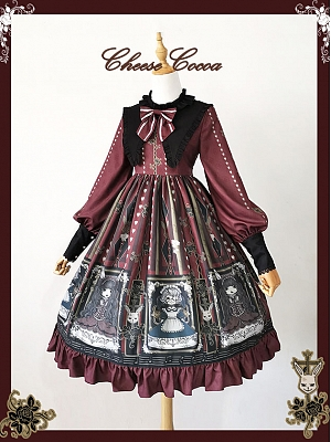 Doll Music Box Lolita Dress OP by Cheese Cocoa