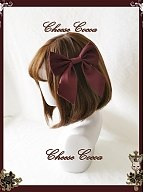 Doll Music Box Lolita Dress OP Matching Hairclip by Cheese Cocoa
