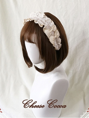 Twilight City Elegant Lolita Matching Hairband by Cheese Cocoa