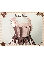 Chocolate Love Lolita Dress JSK by Cheese Cocoa