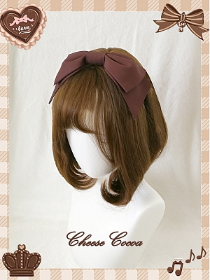 Chocolate Love Lolita Dress JSK Matching KC by Cheese Cocoa