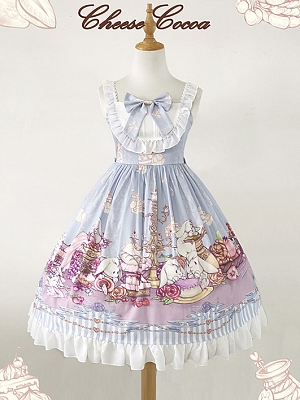 Tea Bunny Lolita Dress JSK by Cheese Cocoa