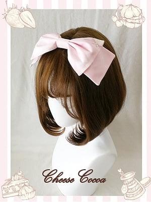 Tea Bunny Lolita Dress JSK Matching KC / Hairclip by Cheese Cocoa