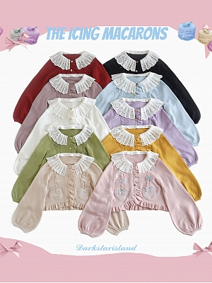 Dark Star Island Collaboration 10 Colors Lolita Cardigan by ChirpLee