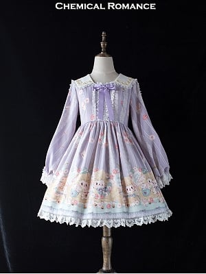 Postman Lamb Sweet Lolita Dress OP by Chemical Romance