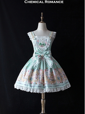 Postman Lamb Sweet Lolita Overall Dress by Chemical Romance