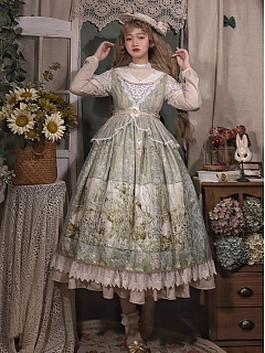 Twilight Feast Elegant Tea Party Lolita Dress OP by Cat Romance