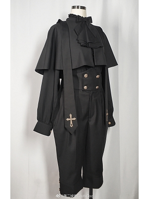 Saint College Collection Cape and Shorts by Castle Too