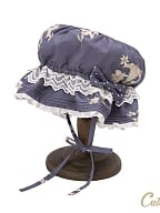 Susan Floral Lolita Dress Matching Hat by Cute Q