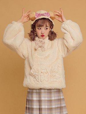 Underworld Forest Lolita Plush Sweatshirt by Crucis Universal Tailor Company