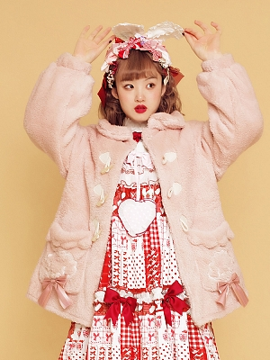 Cloud Puppy Lolita Plush Coat by Crucis Universal Tailor Company