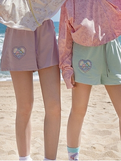 Sanrio Authorized Little Twin Stars Embroidered Shorts by Dear Chestunt
