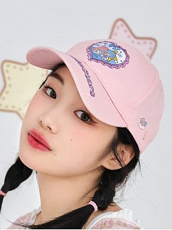 Sanrio Authorized Little Twin Stars Embroidered Baseball Cap by Dear Chestunt