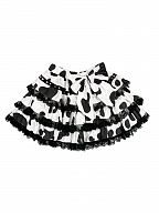 Cows Cotton Tiered Skirt by Diamond Honey