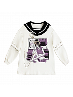 Future Bionic Robot Prints Front Sweatshirt by Diamond Honey
