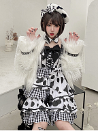 Cows Cotton Lolita Dress JSK by Diamond Honey