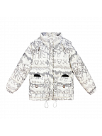 Eyeball Teddy Series Down Jacket by Diamond Honey