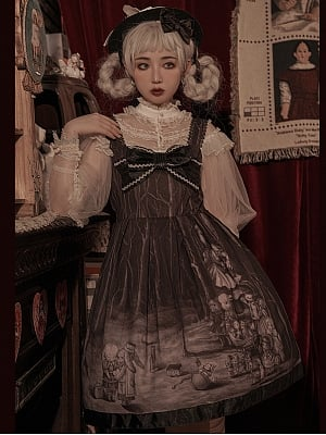 Doll in the Forest Sweet Lolita Dress JSK by Dolls Party