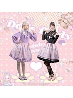 Rainbow Circus Detachable Sleeves Sweet Lolita Dress SP by Dolls Party