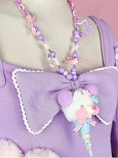 Rainbow Circus Sweet Lolita Necklace by Dolls Party