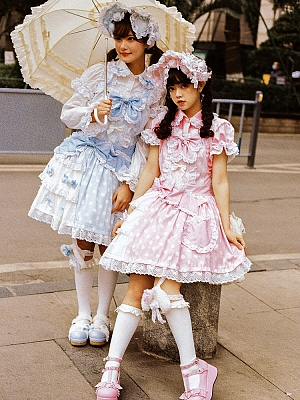Lollipop Sweet Lolita Overall Dress JSK by Dolls Party
