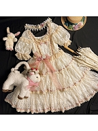 Lovely Antique Lamb Bag by Dolls Party