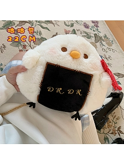 Cooing Pigeon Lolita Plush Crossbody Bag by DRDR