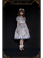 Unbelievable Paradise Detachable Sleeves Lolita Dress JSK by Dark Star Island