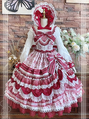 Christmas G Gorgeous Lolita Dress JSK by Elpress L
