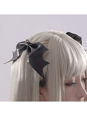 Gothic Lolita Bowknot Hairclips by Flower Banquet Lolita