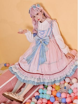 The Key to Dreamland Sweet Lolita Dress JSK by Fancy Lolita