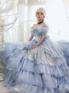Cinderella Inspired Tea Party Lolita Dress by Friday Lolita