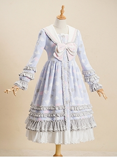 Sleeping in The Clouds Pajama Lolita Dress by Fantastic Wind