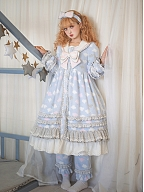Sleeping in The Clouds Lolita Pajama Full Set by Fantastic Wind