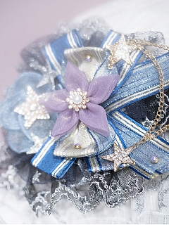 Looking at the Stars Elegant Lolita Headpiece by Fantastic Wind