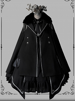 Junior Officer Military Style Lolita Cape by Gloaming