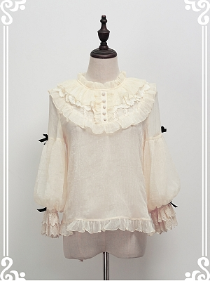 Parallel Dolls Sweet Lolita Blouse by Grove Deer Lolita