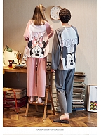 Disney Authorized FW Minnie&Mickey Couple's Cute Pajamas Set by Gukoo